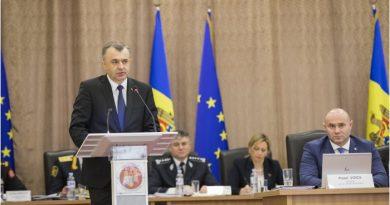 Premierul Ion Chicu a participat la ședința Colegiului MAI 2