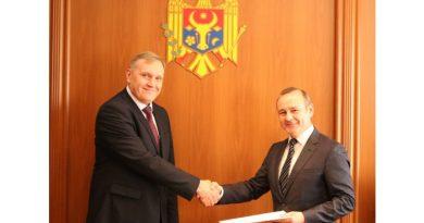Ambasadorul agreat al Ucrainei a prezentat copiile scrisorilor de acreditare 1
