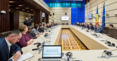 În Parlament a avut loc o întâlnire de lucru cu participarea conducerii țării, precum și a liderilor PSRM și PDM 1 18.04.2021