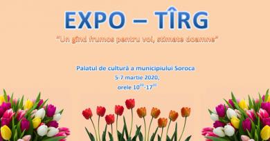 Un expo-târg se va desfășura în ajun de 8 martie la Soroca