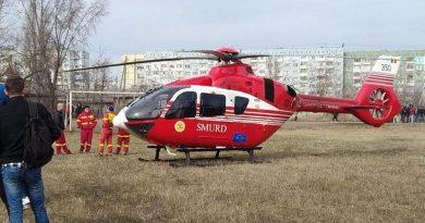 /VIDEO/Un elicopter SMURD din România a fost solicitat de urgență la Bălți 1 18.04.2021