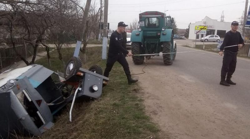 Foto Водитель мотоблока совершил ДТП в Бессарабском районе 1 24.07.2021