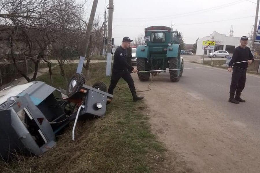 Foto Водитель мотоблока совершил ДТП в Бессарабском районе 2 24.07.2021