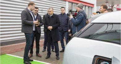Foto Премьер-министр Ион Кику посетил компанию, которая инвестирует в создание 70 зарядных станций для электромобилей 2 20.09.2021