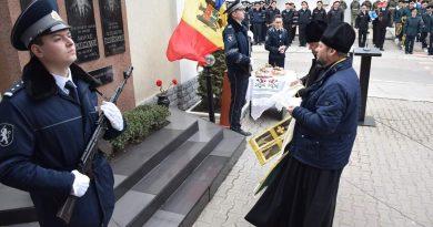 Foto /FOTO/ Eroii căzuți în conflictul armat de pe Nistru au fost comemorați de angajații IP Bălți 2 16.06.2021
