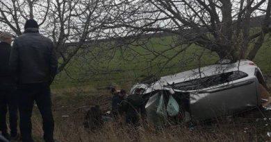 /VIDEO/ Un bărbat a murit într-un accident produs pe un traseu din Fălești 1