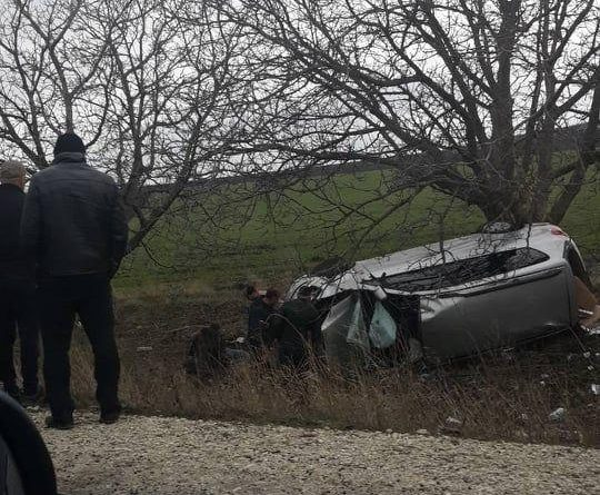 /VIDEO/ Un bărbat a murit într-un accident produs pe un traseu din Fălești 1 17.04.2021
