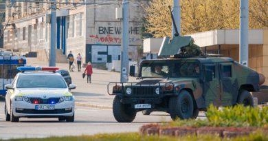 Străzile din Bălți, patrulate de militari. Decizia de a scoate armata în stradă, criticată 1 14.04.2021