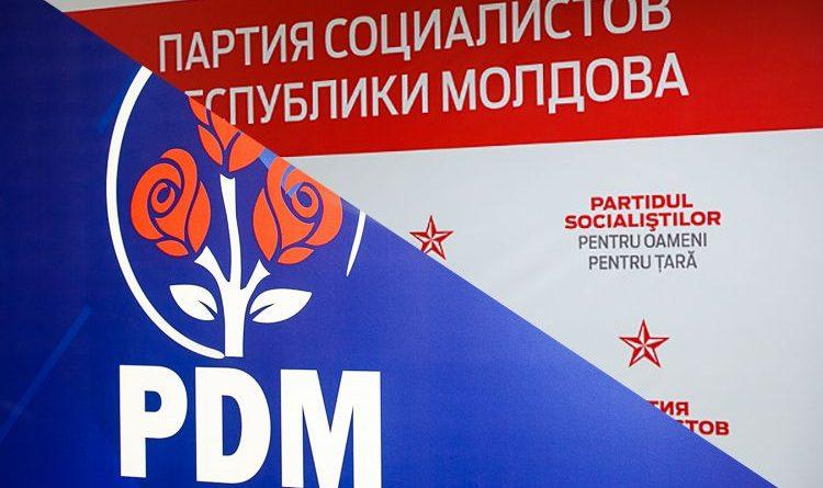 Foto PD și PSRM au făcut coaliție 1 24.07.2021