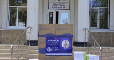 Foto Еврейская община Молдовы передала медицинским учреждениям Кишинева средства индивидуальной защиты 4 28.07.2021