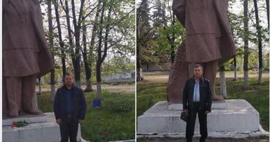 Foto 150-летие со дня рождения Ленина в Бэлць в условиях пандемии прошло очень скромно 4 29.07.2021
