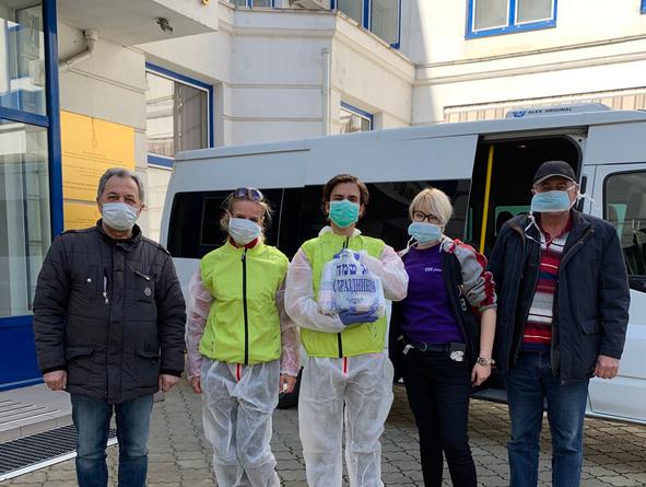 Foto Три волонтера из Кишинева, разносившие еду во время карантина всем нуждающимся, заразились коронавирусом 1 25.07.2021