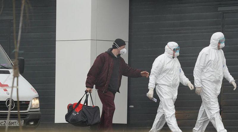 По последним данным, в России выявлено 8672 случаев заражения коронавирусом, скончались 63 человека 1 12.05.2021