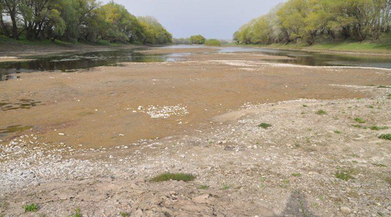 Codul Galben de secetă hidrologică prelungit din nou