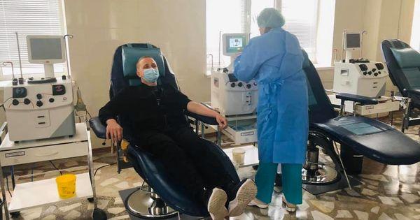 Cine este primul donator din Republica Moldova care a donat plasmă sanguină pentru infectații de COVID-19