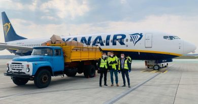 Груз медицинского оборудования был отправлен из Кишинева в Варшаву 6 11.05.2021