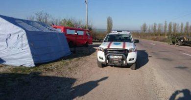 /FOTO/ Vezi cum a fost instituit regimul de carantină în satul Brânzeni din raionul Edineț