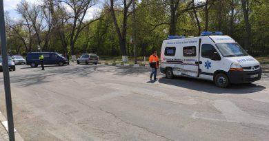 Foto Accident cu implicarea unei ambulanțe la Bălți 1 24.07.2021