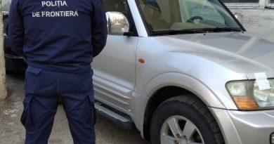 Automobil scos din circulație în Lituania depistat în raionul Briceni