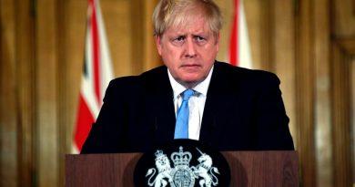 В Великобритании рассказали о состоянии заболевшего COVID-19 премьер-министра Бориса Джонсона 5 17.05.2021