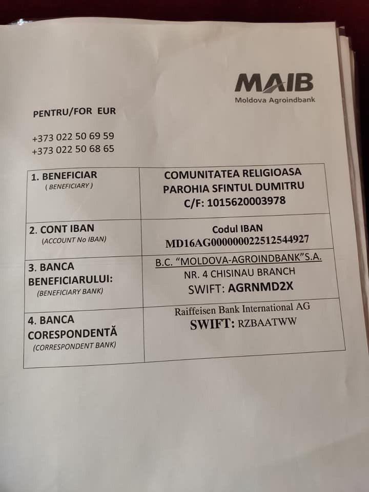 /FOTO/ Un preot din Chișinău roagă enoriașii să doneze bani pentru a achita amenda aplicată de autorități 2 12.05.2021