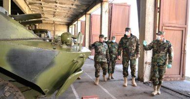 Foto Brigada militară din Bălți, inspectată de conducerea Ministerului Apărării 4 16.06.2021