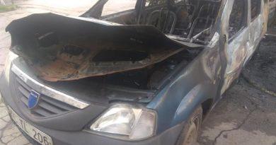 Foto В Кишиневе сгорели два автомобиля 3 28.07.2021