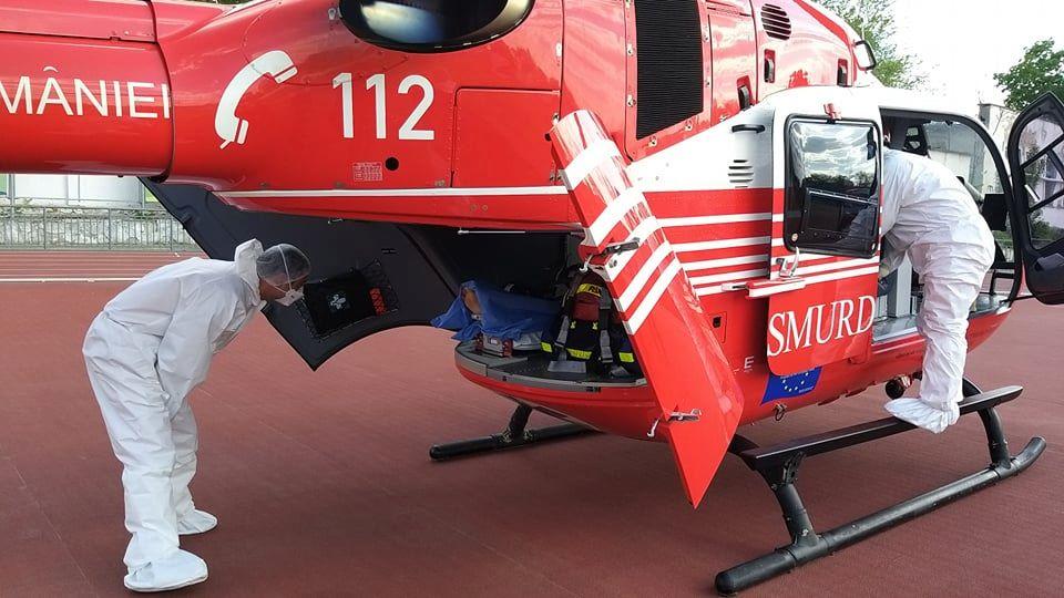 Foto Intervenție SMURD la Ocnița. Un tânăr transportat cu elicopterul la Chișinău 3 25.07.2021