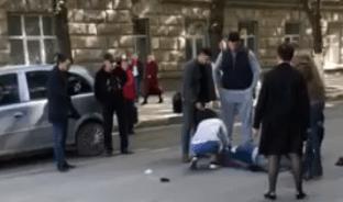 Biciclist ajuns în comă după ce a fost lovit de o mașină în centrul orașului Bălți
