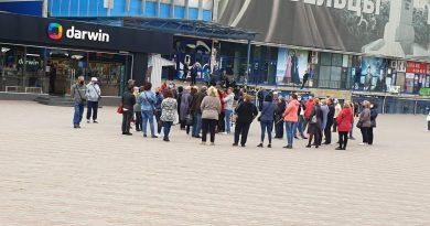 На центральной площади Бэлць прошел протест работников рынка (Фото) 7 18.05.2021