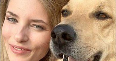 Польскую актрису страшно изуродовала собака, которую она взяла из приюта 3 11.05.2021