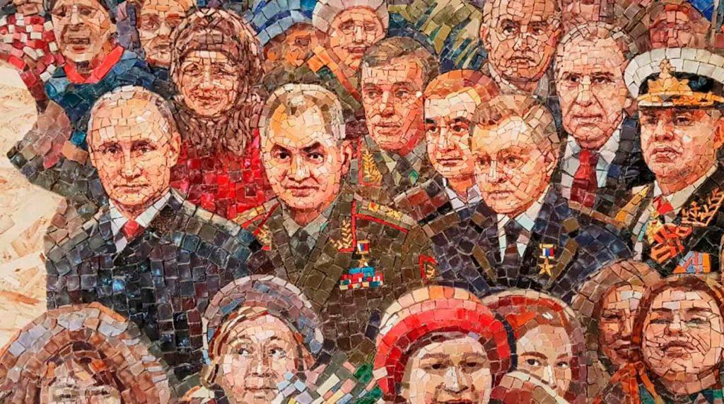 Мозаику с изображением Путина убрали из храма Минобороны 2 12.05.2021