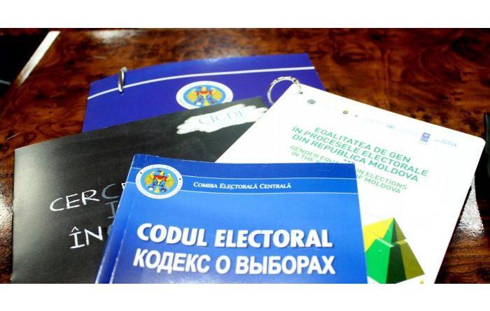 Foto Кодекс о выборах РМ может быть изменен 1 24.07.2021