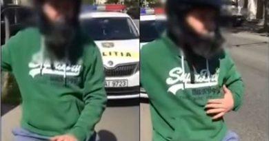 /VIDEO/ Doi șoferi drogați reținuți de poliție în Chișinău 2 12.04.2021
