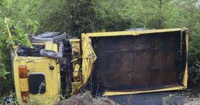 Accident pe șoseaua Balcani: O camionetă s-a inversat în șanț 2 15.05.2021
