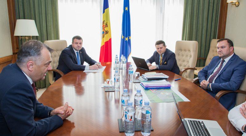 Foto Premierul Chicu a convocat o ședință dedicată subiectului industrializării Republicii Moldova 1 14.06.2021