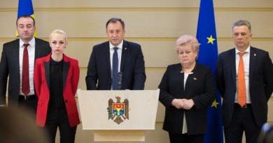 """Foto Партия """"Шор"""" присоединяется к антиправительственному блоку, созданного в пятницу утром лидером группы Pro Moldova Андрианом Канду 4 22.09.2021"""