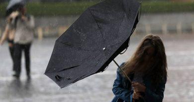 Во вторник, 12 мая, в северных районах Молдовы ожидаются дожди с грозами и усиление ветра до штормового 16-17 м/с 4 11.05.2021