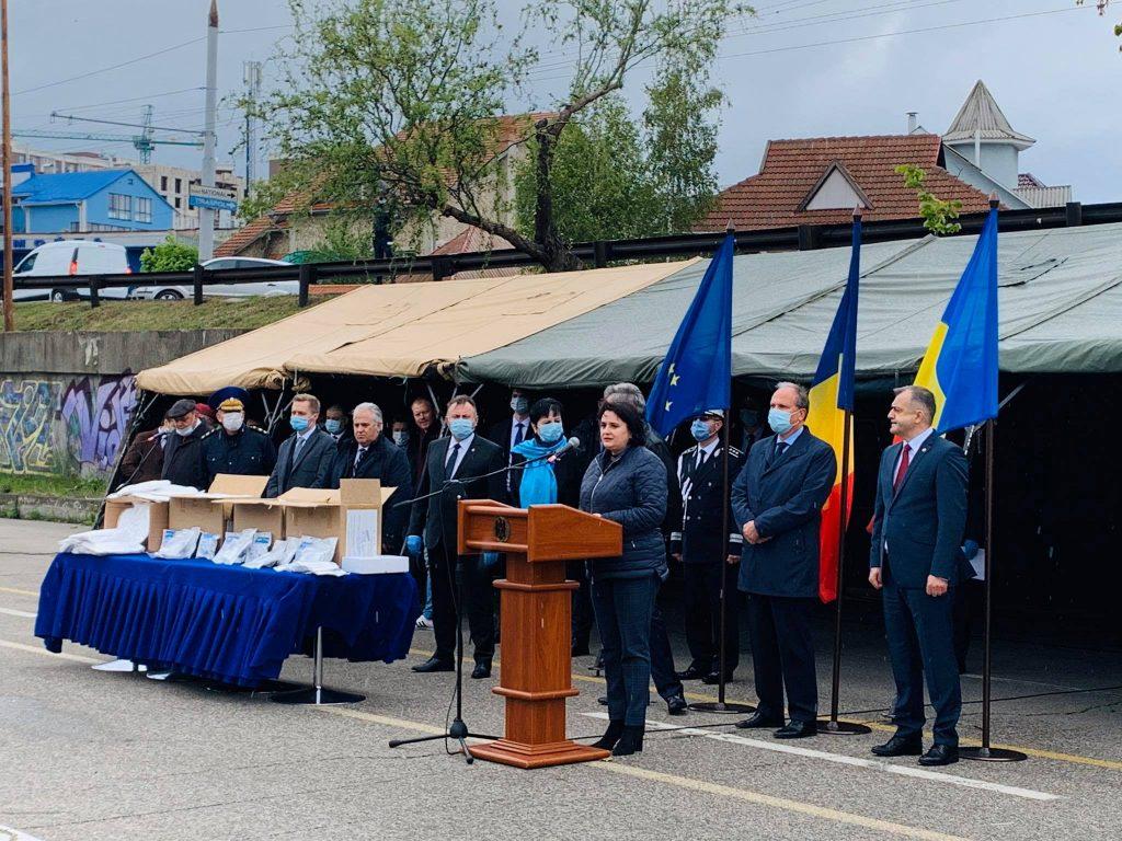 Foto Румыния предоставила материальную помощь на 3,5 млн евро Республике Молдова для поддержки в борьбе с эпидемией COVID-19 3 14.06.2021