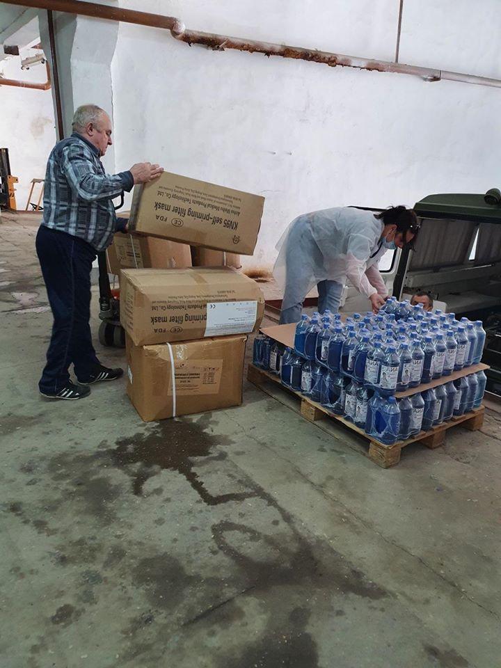 Foto /FOTO/ Cinci spitale din nordul Moldovei au primit deja ajutoare umanitare din partea României 4 16.06.2021