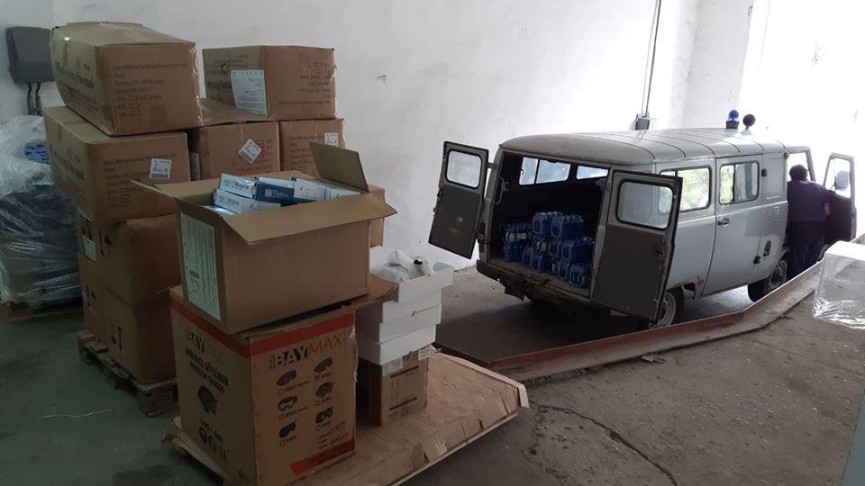 Foto /FOTO/ Cinci spitale din nordul Moldovei au primit deja ajutoare umanitare din partea României 5 16.06.2021
