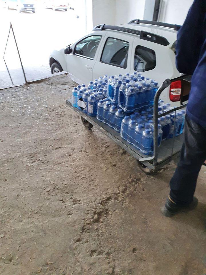 Foto /FOTO/ Cinci spitale din nordul Moldovei au primit deja ajutoare umanitare din partea României 8 16.06.2021