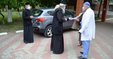 Episcopia de Bălți a donat Spitalului Raional Sângerei 10 mii de lei