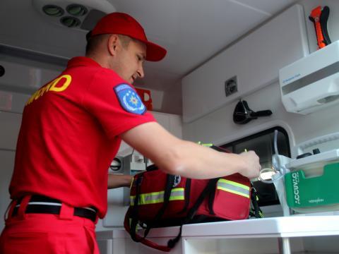 O nouă intervenție SMURD la Bălți