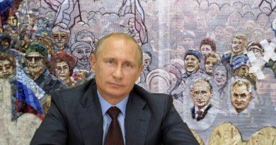 Foto Мозаику с изображением Путина убрали из храма Минобороны 2 21.06.2021