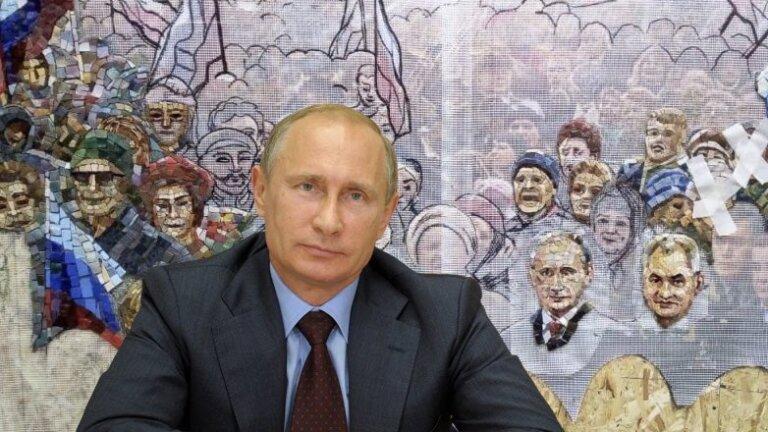 Мозаику с изображением Путина убрали из храма Минобороны 1 12.05.2021