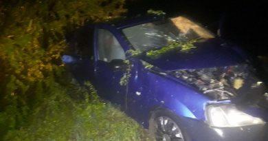 /FOTO/ Un tânăr din raionul Briceni a ajuns pe patul de spital în urma unui accident rutier