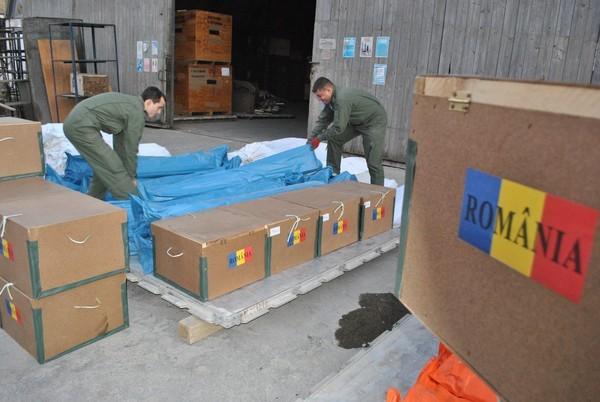 /FOTO/ Cinci spitale din nordul Moldovei au primit deja ajutoare umanitare din partea României