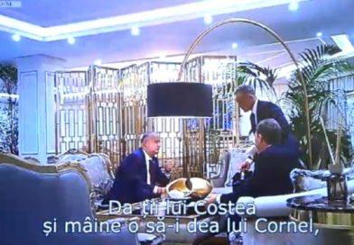 Procuratura Generală va investiga imaginile video cu Igor Dodon în care ar primi bani într-o pungă de la Vladimir Plahotniuc
