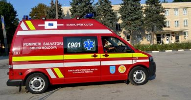 Foto 30 мая экипаж SMURD доставил из Бэлць в Кишинев 71-летнюю женщину 4 21.06.2021